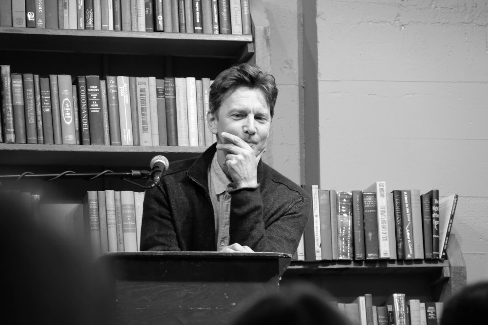 Andrew McCarthy fielding questions BW