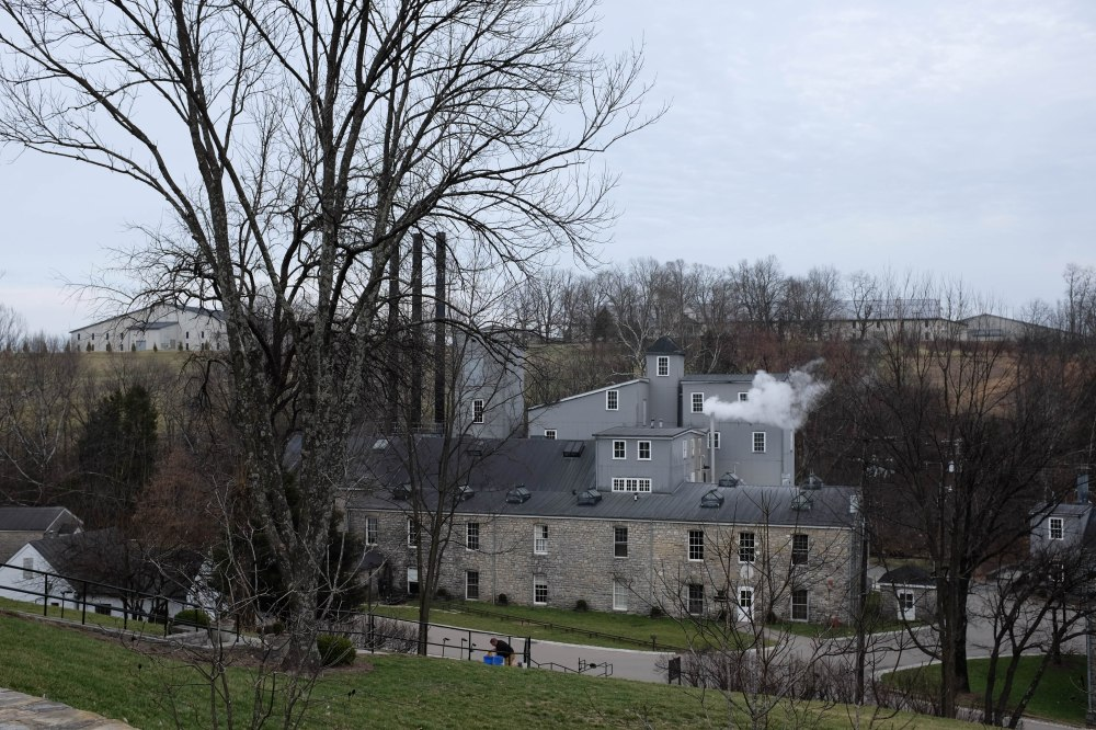 leveled view of WR distillery
