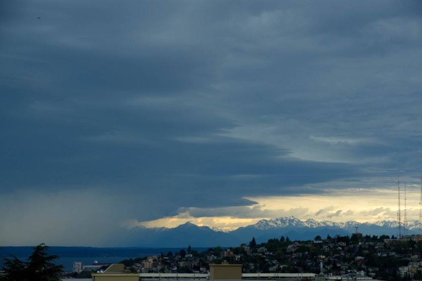 Seattle before the storm 2 Thursday 4 May