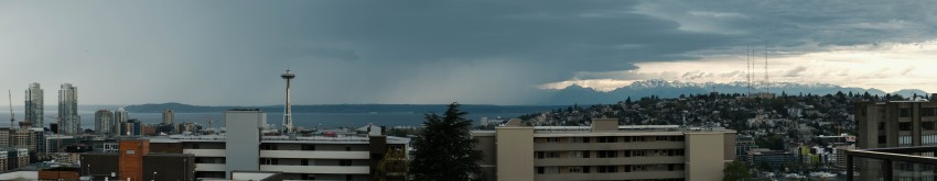 Seattle before the storm Thursday 4 May