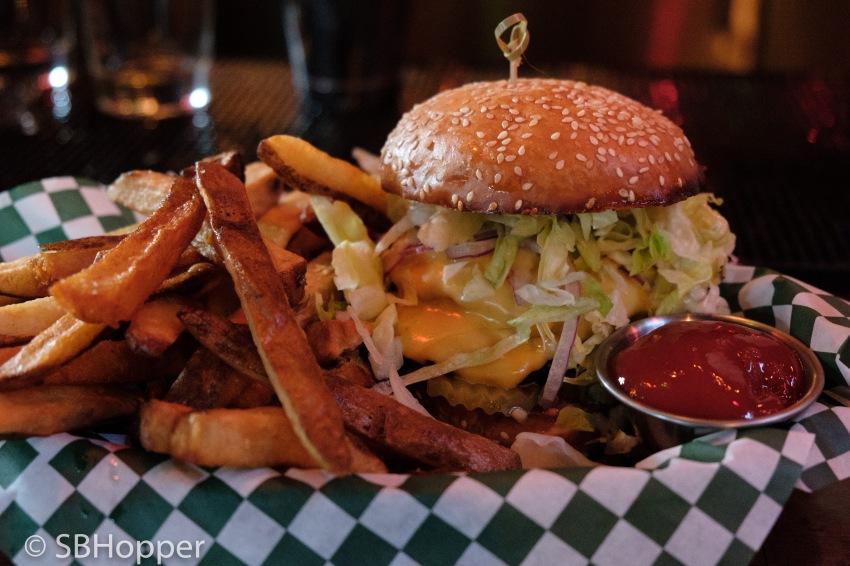 Bait Shop burger Capitol Hill Seattle