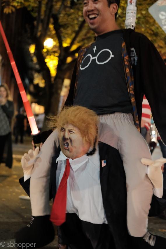 Capitol Hill, Halloween 2017.
