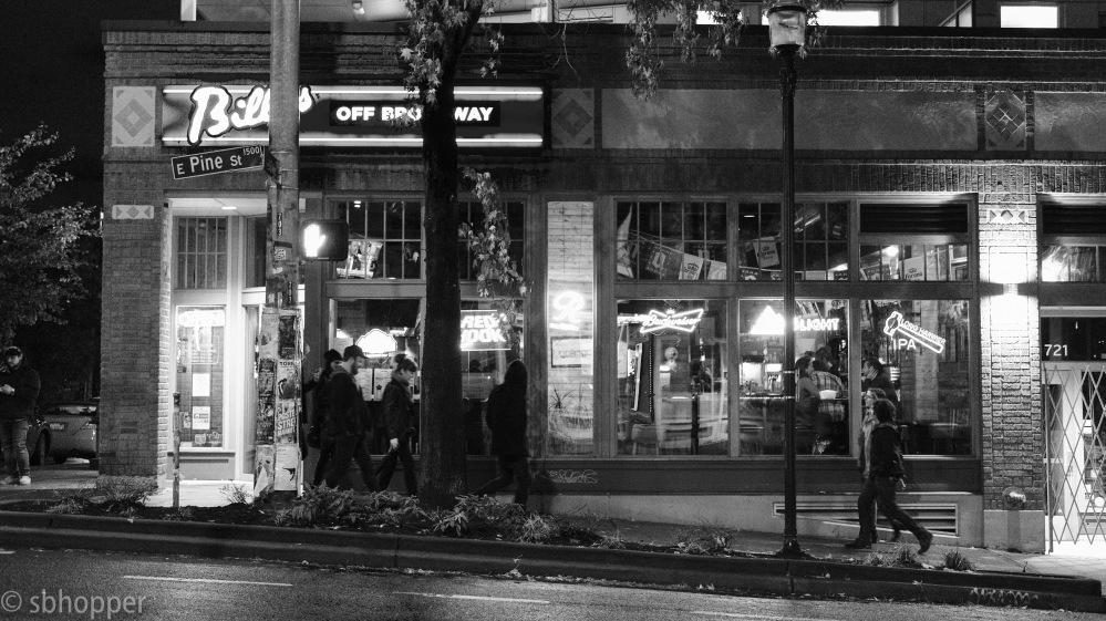 Broadway, Capitol Hill, Bill's Off Broadway, Seattle