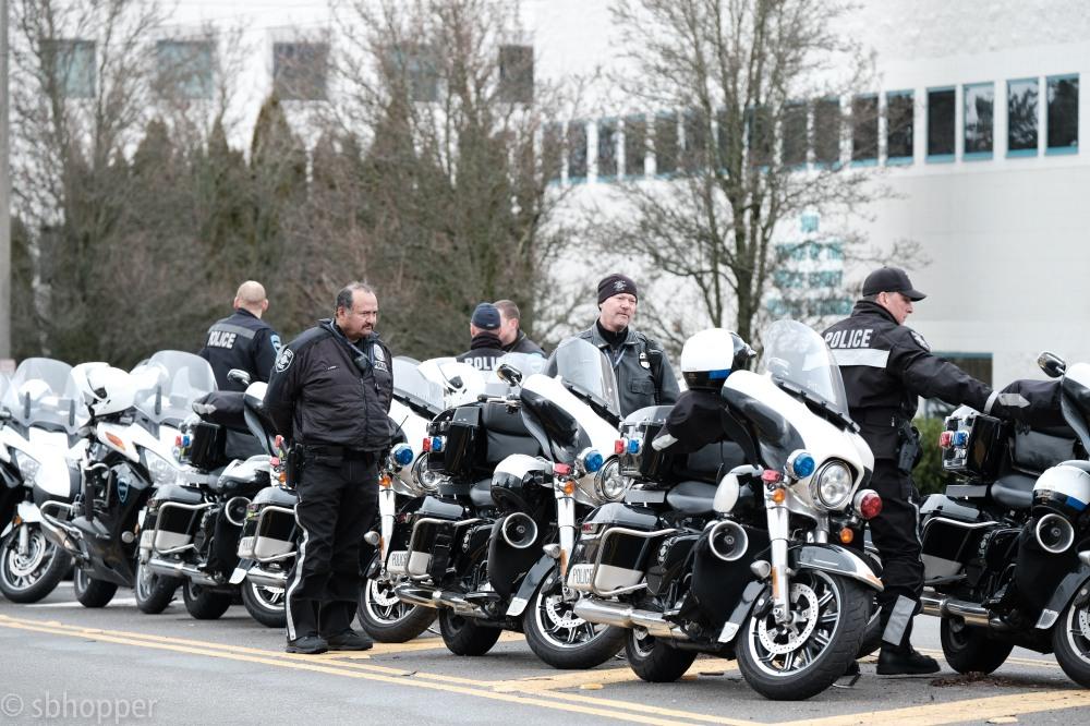 Procession for Sheriff's Deputy Daniel McCartney (4 of 11)