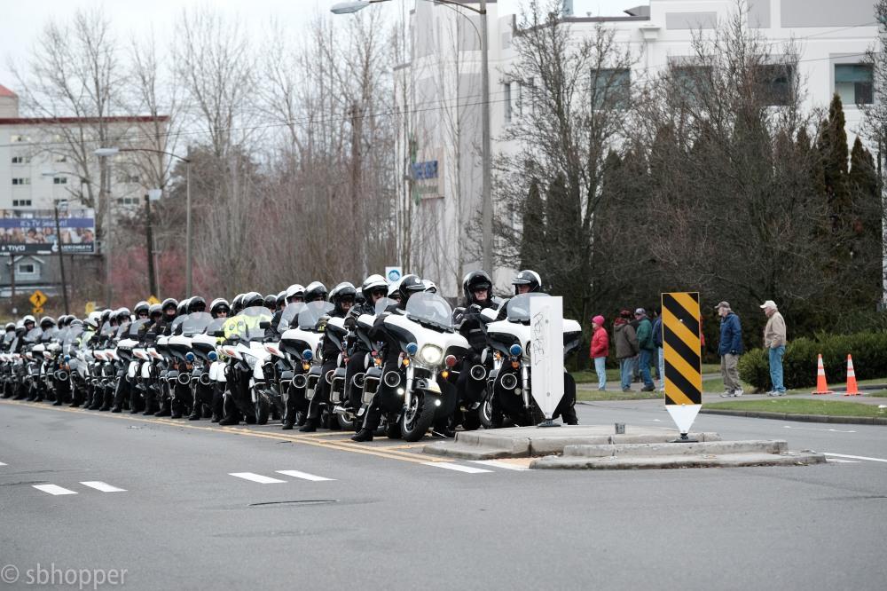 Procession for Sheriff's Deputy Daniel McCartney (5 of 11)