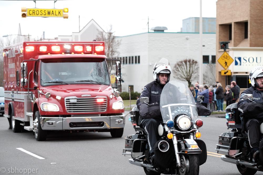 Procession for Sheriff's Deputy Daniel McCartney (8 of 11)